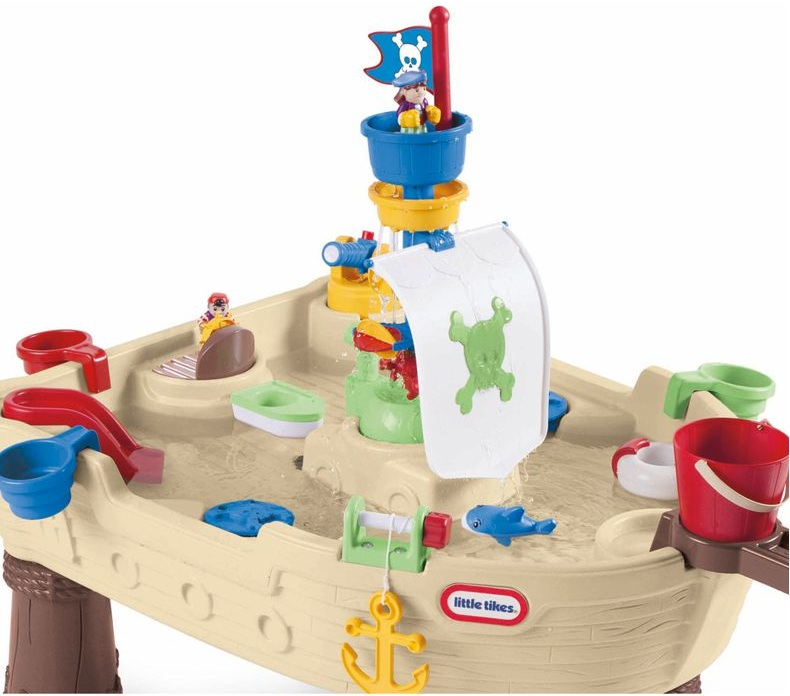 Table de jeux deau bateau pirate little tikes jeu dext rieur - Maison de jardin little tikes colombes ...