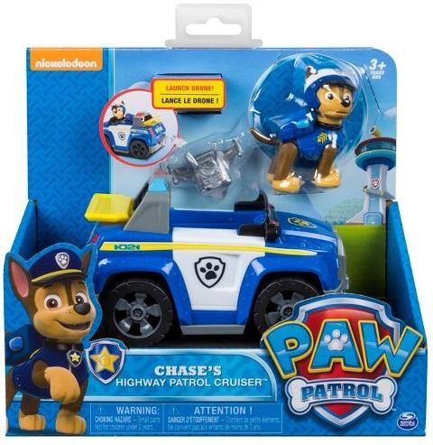 Paw Patrol Figurines Jouets Enfants Ensemble Cadeau Voiture Jouet Chien hélicoptère avion Chase
