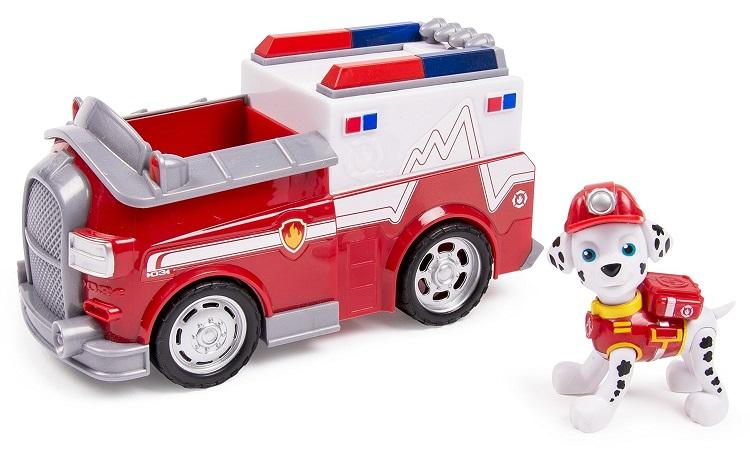 Pat patrouille marcus camion de pompier spin master paw - Pas de patrouille ...