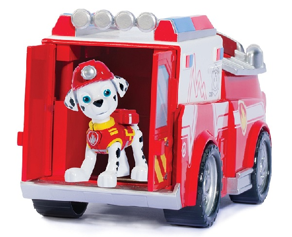 pat patrouille marcus camion de pompier spin master paw patrol. Black Bedroom Furniture Sets. Home Design Ideas