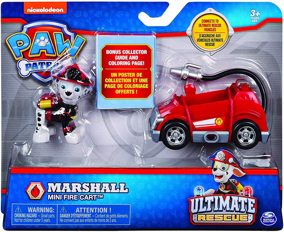 Pat Patrouille Marcus Camion Pompier Poster Paw Patrol