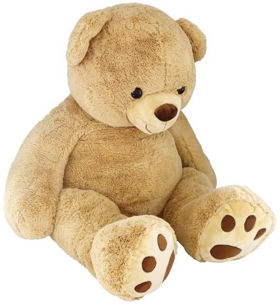 peluche g ante ours teddy 135 cm doudou gar on enfant fille. Black Bedroom Furniture Sets. Home Design Ideas