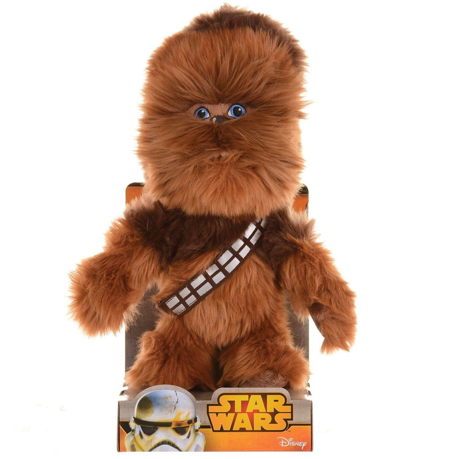 nicotoy 5873904 peluche star wars chewbacca 25cm peluche. Black Bedroom Furniture Sets. Home Design Ideas