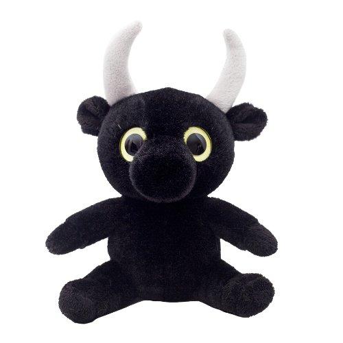 Wild planet peluche taureeau 21 cm animaux de la ferme - Animaux a gros yeux ...