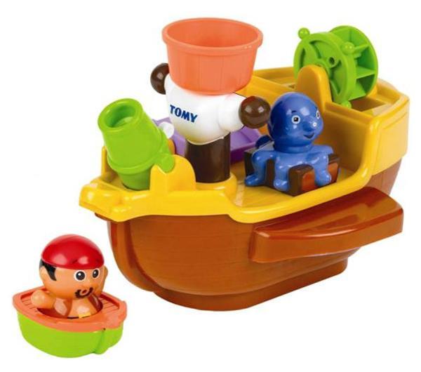Pirat eau jeu aqua fun tomy bateau pirate bb for Pelleteuse jouet exterieur