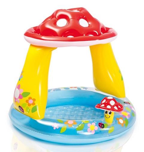 piscine champignon toit parasol b b intex petit prix
