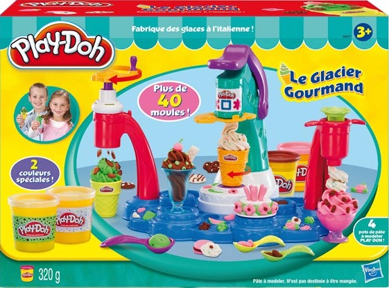 glacier gourmand play doh pte modeler play doh loisir cratif pte modeler. Black Bedroom Furniture Sets. Home Design Ideas