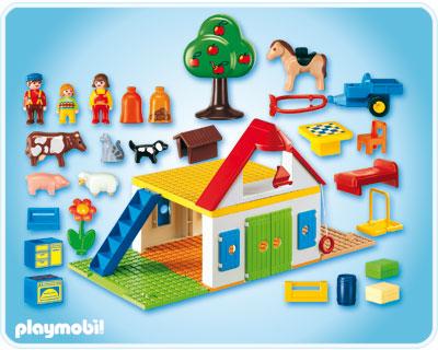 playmobil rfrence 6750 playmobil 1 2 3. Black Bedroom Furniture Sets. Home Design Ideas