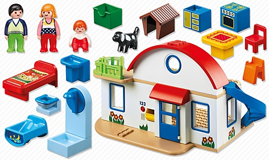 6784 maison de campagne de playmobil. Black Bedroom Furniture Sets. Home Design Ideas
