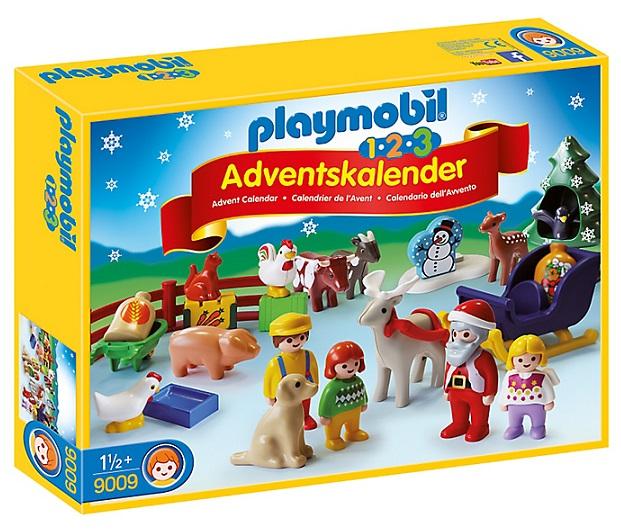 Playmobil calendrier de lavent 123 no l la ferme 9009 - Calendrier avent one piece ...