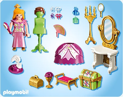 Playmobil fille chateau de princesse - stepindance.fr