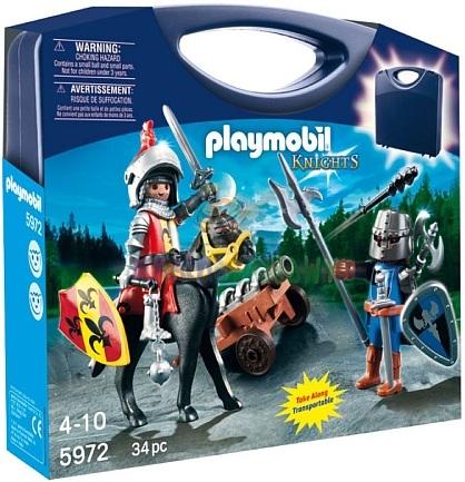 playmobil chevaliers 5972 valisette chevaliers - Playmobile Chevalier