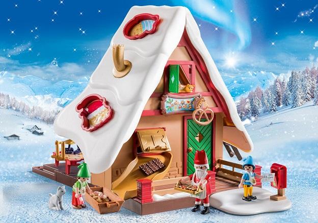 playmobil 9493 atelier de biscuit du p re no l moules. Black Bedroom Furniture Sets. Home Design Ideas