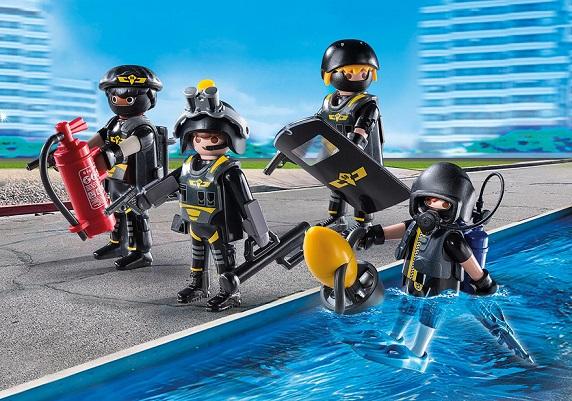 Playmobil Policiers 9365 Action D'élite City Swat Gign hQdsrotxBC