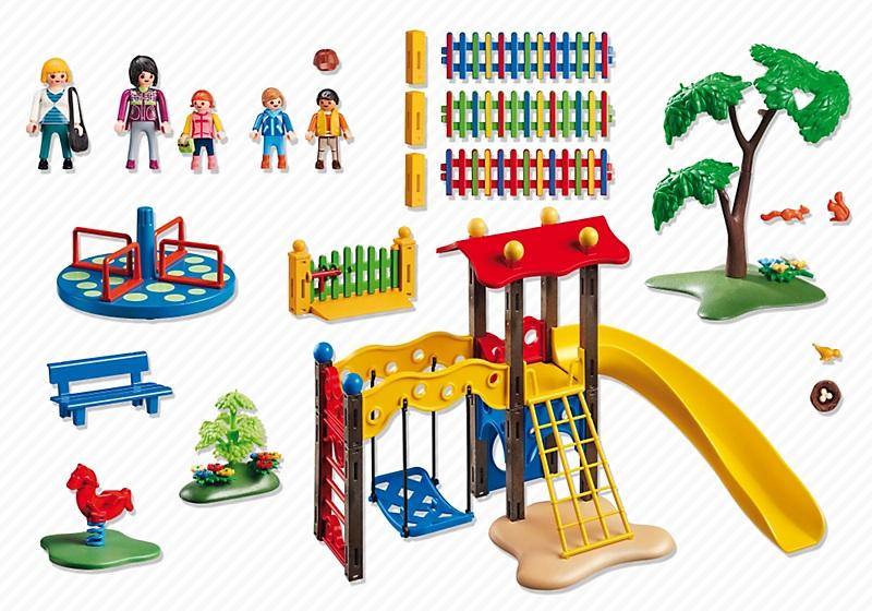 5568 square pour enfants avec jeux de playmobil. Black Bedroom Furniture Sets. Home Design Ideas