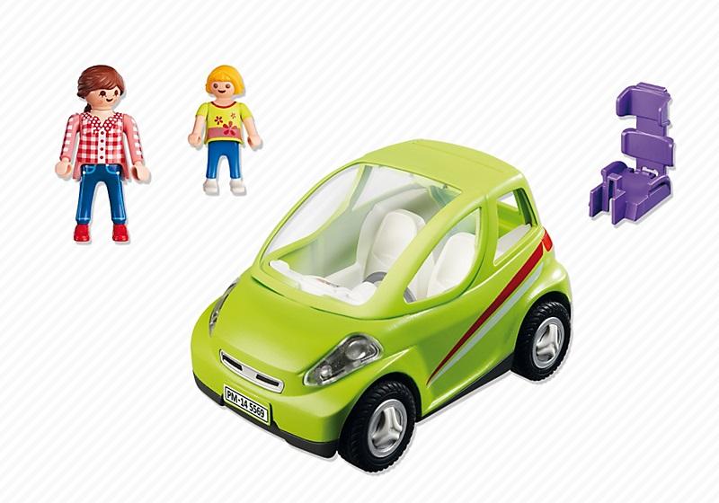 acheter playmobil 5569 voiture de ville avec maman et enfant. Black Bedroom Furniture Sets. Home Design Ideas