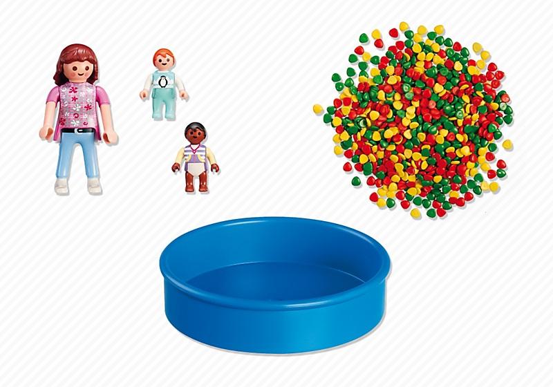 Achat vente playmobil 5572 piscine balles pour b b s for Piscine a balle jouet club