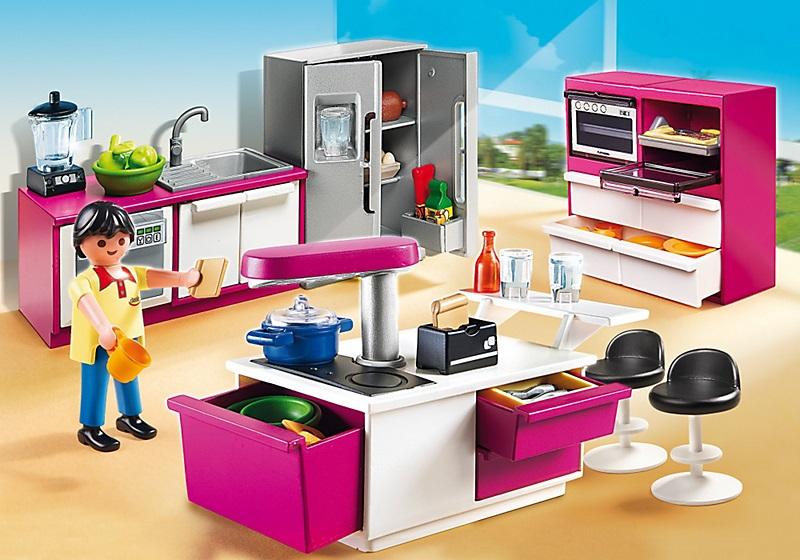 playmobil city life cuisine avec lot 5582 moins ch re