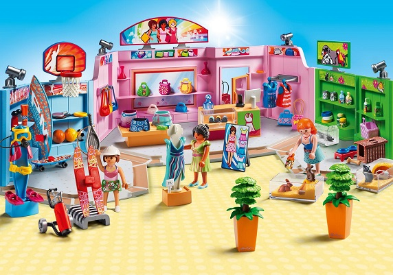 playmobil 9078 galerie marchande city life magasin shop. Black Bedroom Furniture Sets. Home Design Ideas