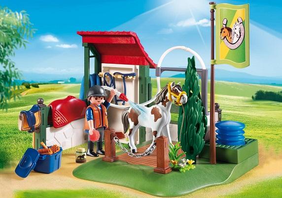 Playmobil 6929 box de lavage pour chevaux achat prix - Douche pour chevaux playmobil ...