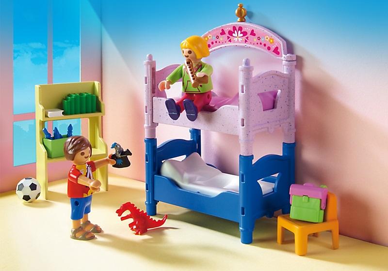 Playmobil 5306 chambre des enfants avec lits d cor s for Playmobil chambre enfant