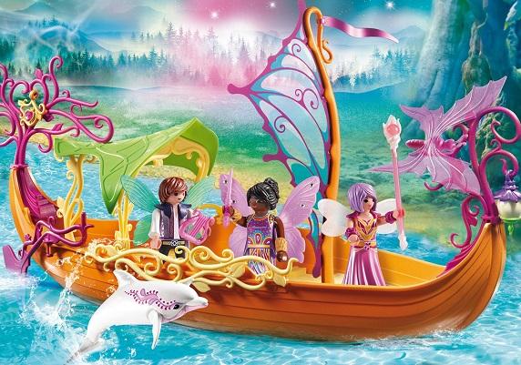 bateau enchant des f es playmobil 9133 fairies nouveaut. Black Bedroom Furniture Sets. Home Design Ideas