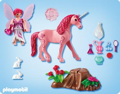 playmobil fes playmobil 5443 acheter licorne rose playmobil