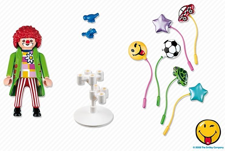 playmobil 5546 summer fun parc loisirs clown vendeur de ballon. Black Bedroom Furniture Sets. Home Design Ideas