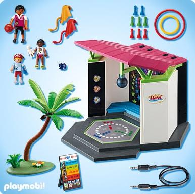Playmobil vacances playmobil 5266 club enfants et mini for Piscine playmobil jouet club