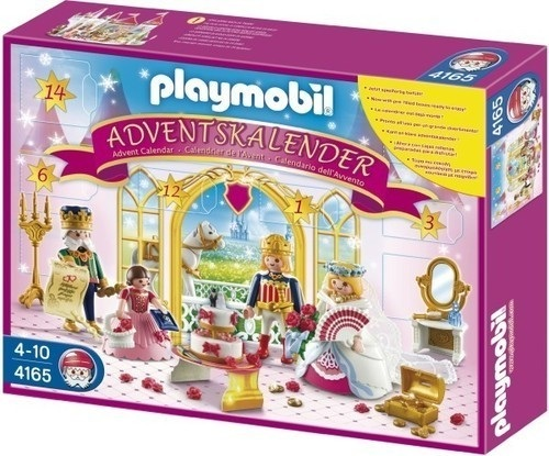 playmobil princesse calendrier de lavent 4165 jeu de construction fille. Black Bedroom Furniture Sets. Home Design Ideas