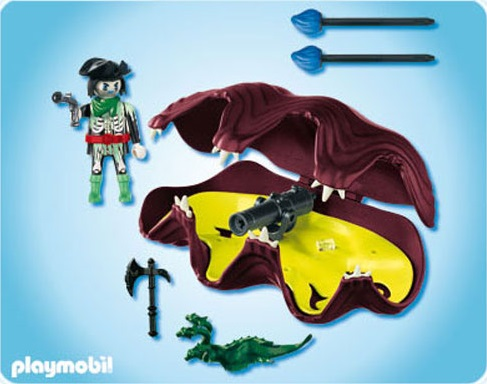Playmobil 4802 pirate fant me et coquillage canons - Pirate fantome ...