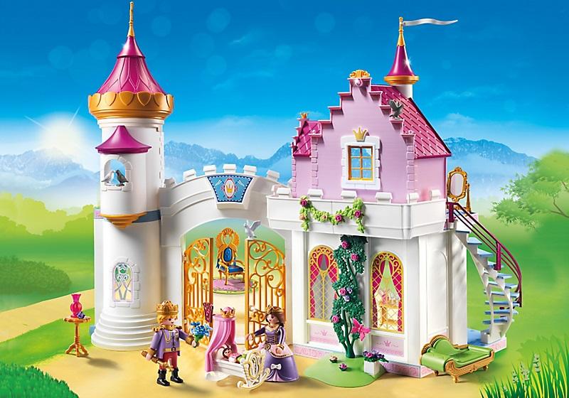 manoir royal playmobil princesse 6849 cavernedesjouets