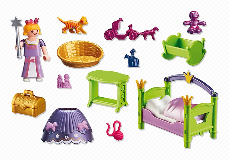 playmobil 6852 chambre de princesse enfant achat vente. Black Bedroom Furniture Sets. Home Design Ideas