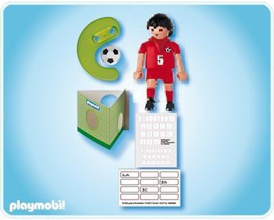 playmobil sportifs 4724 joueur de football equipe turquie