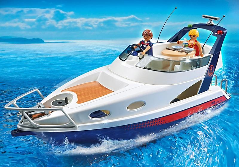 acheter moins cher playmobil 5205 yacht de luxe summer fun. Black Bedroom Furniture Sets. Home Design Ideas