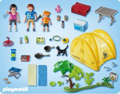 Playmobil summer fun playmobil 5435 tente accessoires de for Accessoire piscine fun