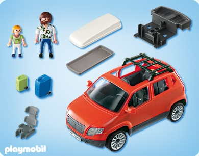 playmobil summer fun playmobil 5436 acheter voiture familiale playmobil. Black Bedroom Furniture Sets. Home Design Ideas