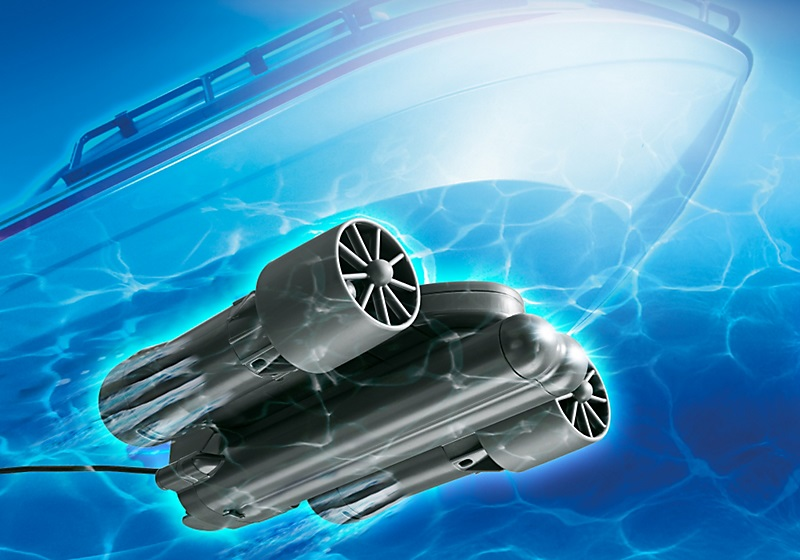 moteur submersible radiocommand playmobil rc motor 5536. Black Bedroom Furniture Sets. Home Design Ideas
