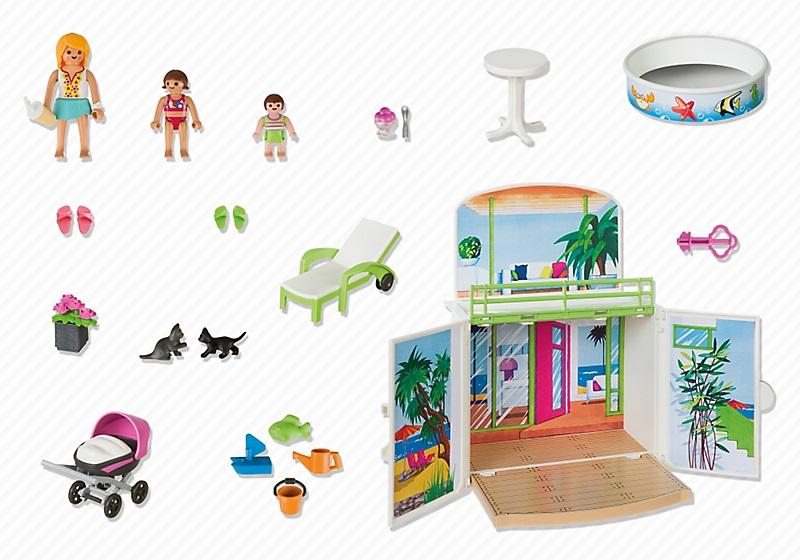 Jouet Playmobil 6159  Coffre Terrasse de Vacances pas cher : Prix à comparer