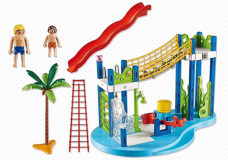 jouet playmobil summer fun aire de jeux aquatique 6670. Black Bedroom Furniture Sets. Home Design Ideas