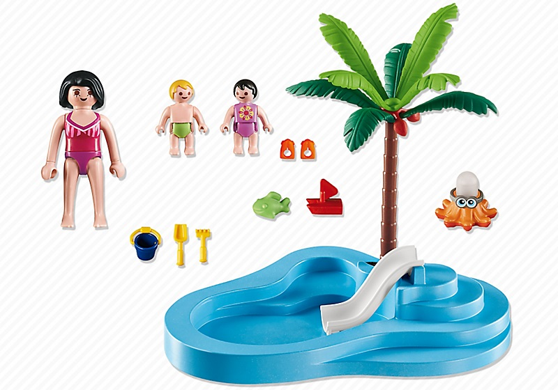 Piscine playmobil piscine playmobil summer fun with for Piscine de playmobil