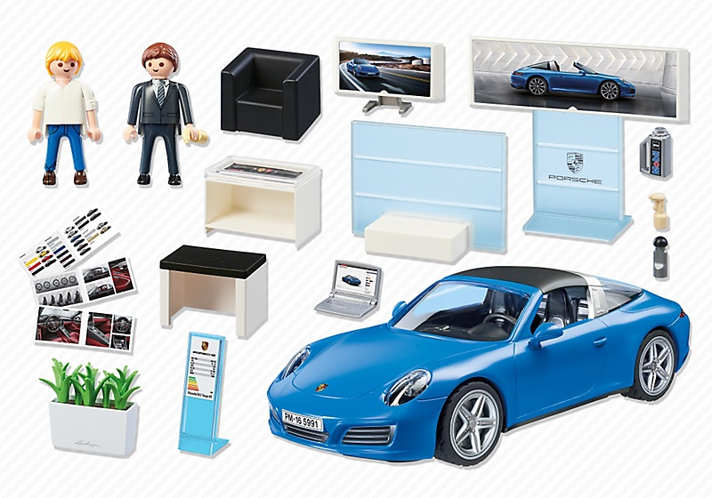 playmobil 5991 porsche 911 targa 4s bleu au meilleur prix. Black Bedroom Furniture Sets. Home Design Ideas