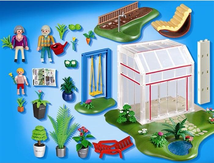 Jouet playmobil maison 4281 v randa et jardin neuf pas cher for Playmobil villa moderne maison 4279