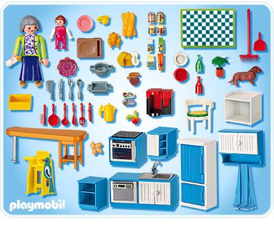 Playmobil rfrence 5329 playmobil vie en ville for Cuisine en ville
