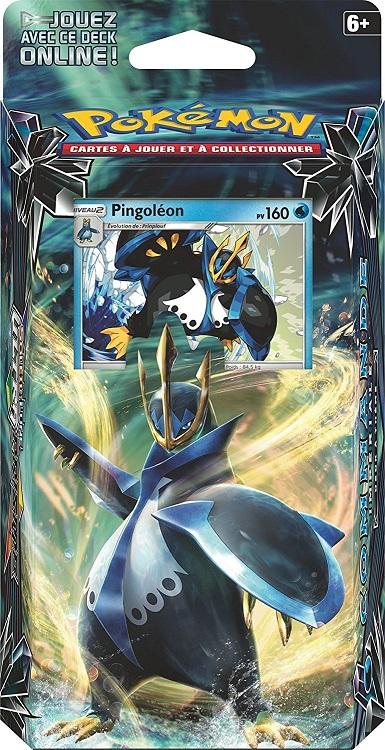 Deck pingoleon pokemon soleil et lune 5 commande imp riale carte collectionner - Pokemon pingoleon ...
