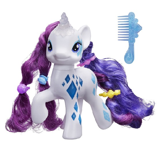 poney rarity licorne magique my little pony hasbro b0367