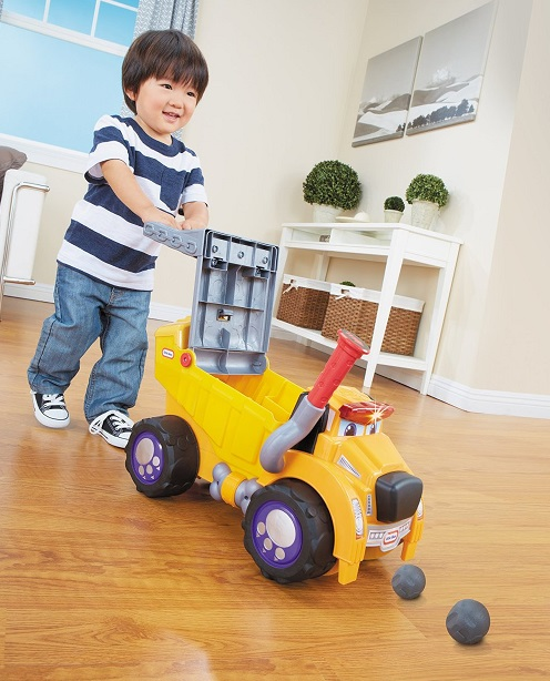 porteur b b camion chien big dog jouet little tikes. Black Bedroom Furniture Sets. Home Design Ideas