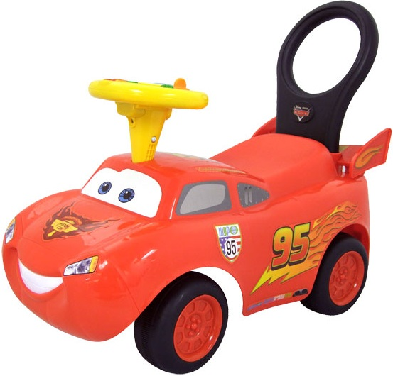 Porteur Bébé Cars 2 Disney Flash Mc Queen Jouet D'éveil