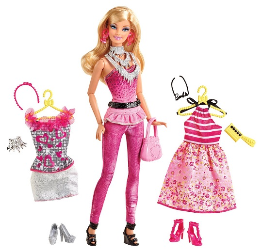 coffret barbie fashionistas robes et accessoires mattel. Black Bedroom Furniture Sets. Home Design Ideas
