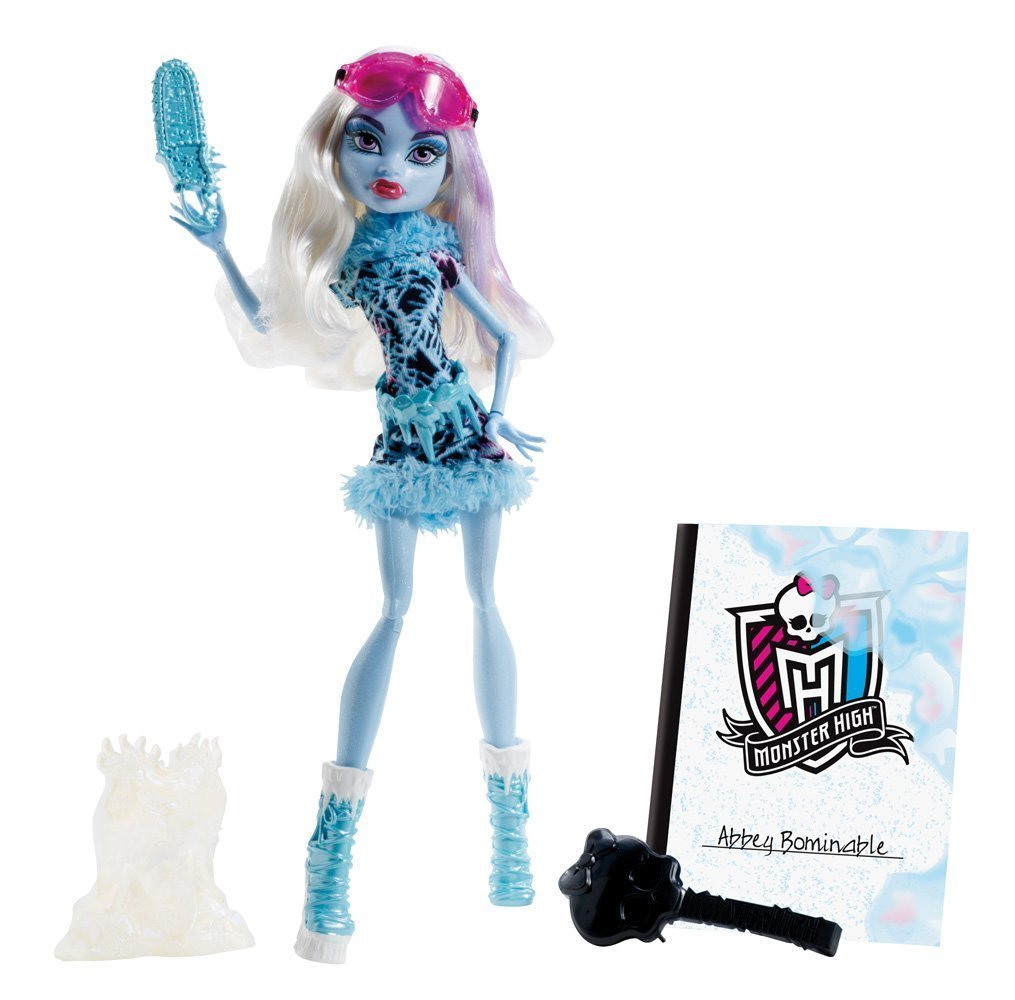 Monster high cours d 39 art plastique abbey bominable bdf13 - Poupee monster high robecca ...